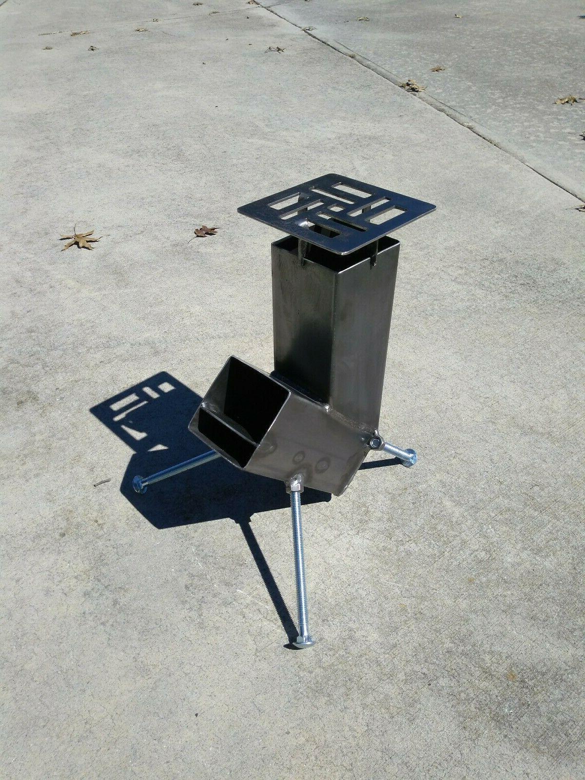Rocket Feed Design be hurricane season camp stove
