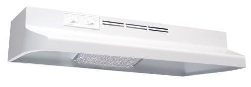 round ducting under cabinet range