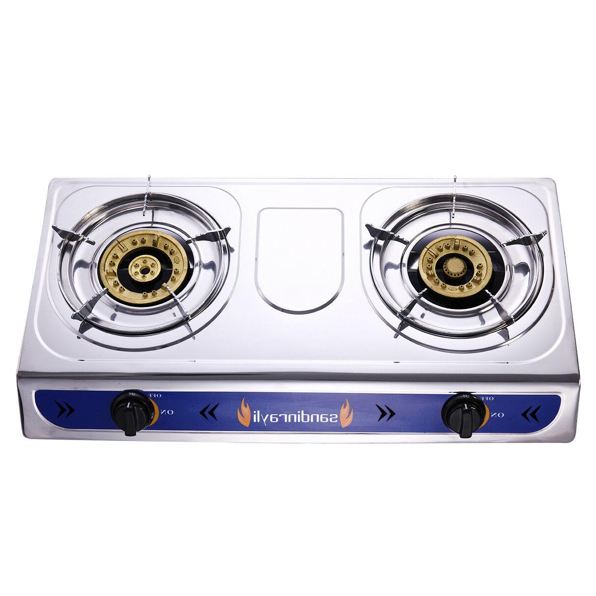 Stainless Gas, Propane Stove Outdoor