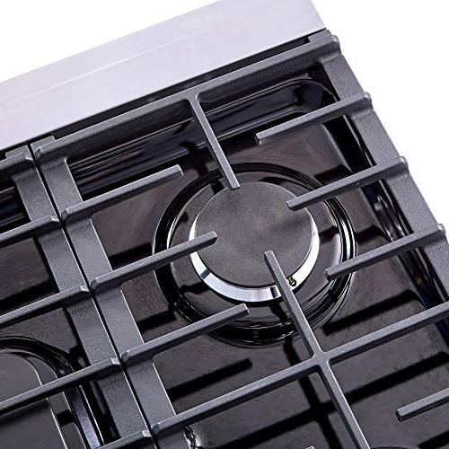 "Thor 30"" Stainless Steel Range with 5 Burner"