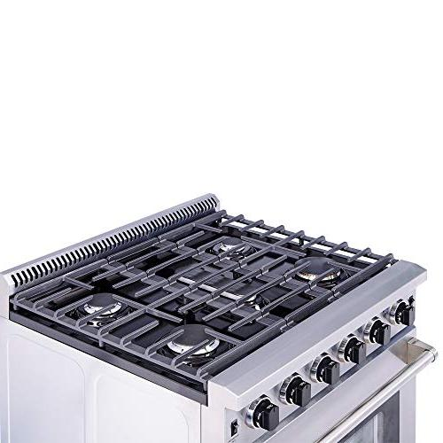 Thor Stainless Steel Range with Burner