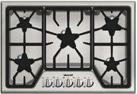 "Thermador Stainless Steel 30"" Masterpiece Gas Cooktop"