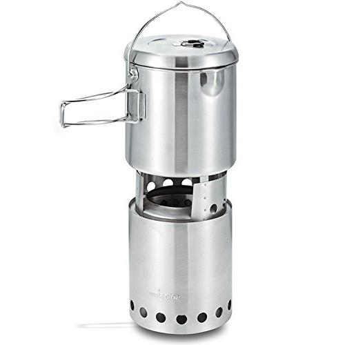 Solo Stove Titan Solo Pot Stove Combo: Woodburning Stove Great and