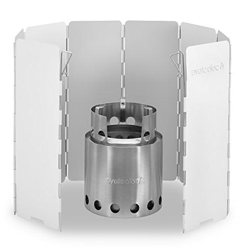 Solo Stove Solo Windscreen: and Other Backpacking Stoves, Butane Stoves, Stoves