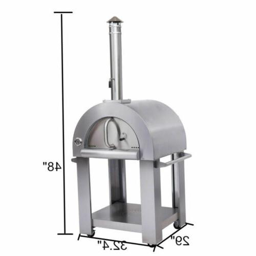 Thor Pizza Outdoor Steel Wood Stove