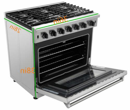 Thor Steel Kitchen Gas Stoves Oven