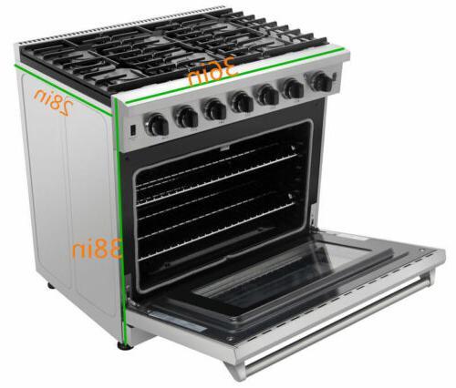 Thor Gas Range Steel Stoves Oven