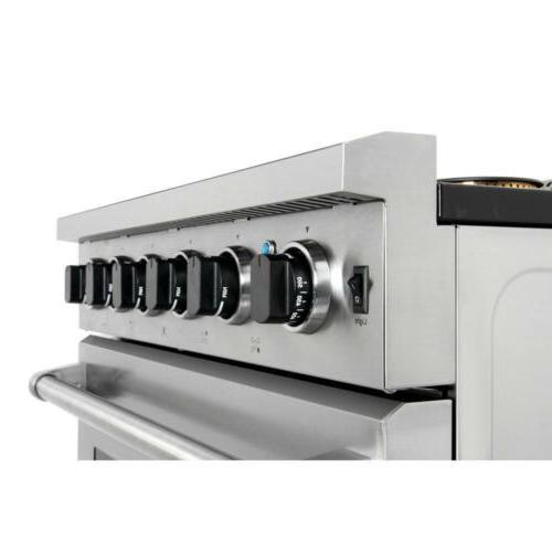 Thor Stainless Kitchen 36inch Gas Stoves Oven