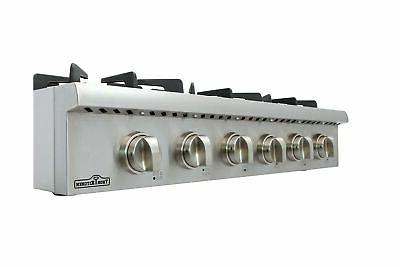 Thorkitchen Gas with 6 Sealed Burners 36 -