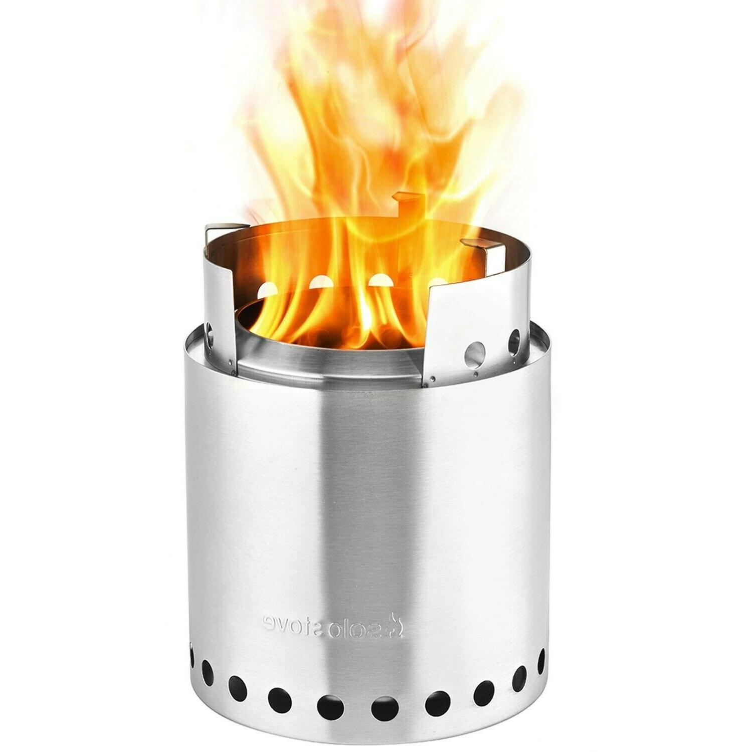 Solo 2-4 Person Wood Burning Stove for