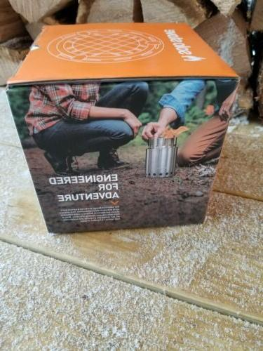 Solo Titan Steel Wood Burning Camping Backpacking Stove