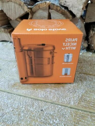 Solo Stove Titan Steel Wood Burning Hiking Camping Backpacking Stove