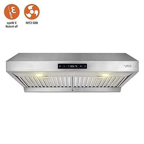 touch 860 cfm stainless steel