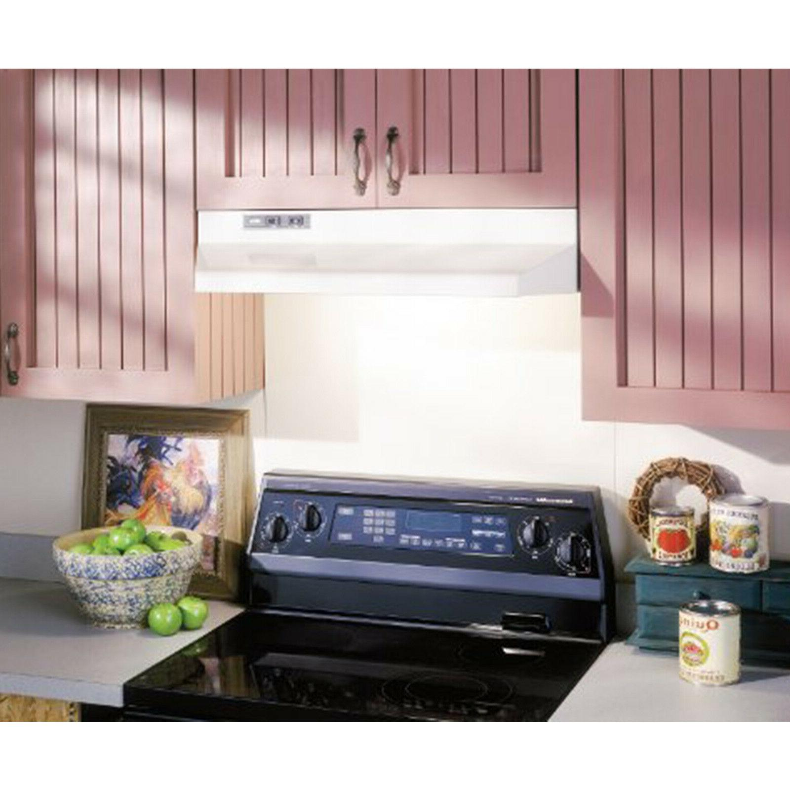 """Under Cabinet Capable 30"""" Kitchen Duct Top Fans Filter New"""