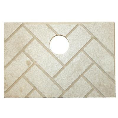 us stove 891139 herringbone ceramic brick