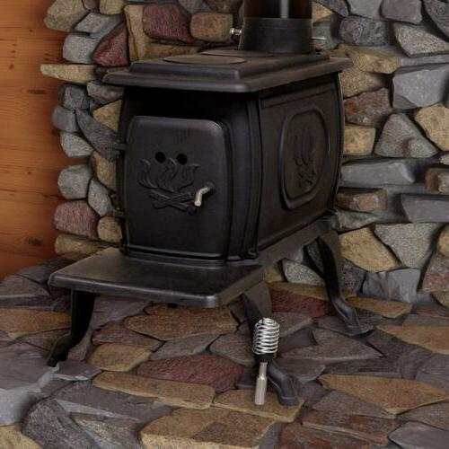 wood burning stove heater cast iron 900