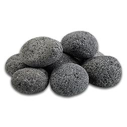 Midwest Hearth 100% Natural Lava Stones for Gas Fire Pit and