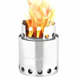 Solo Stove Lite Compact Wood Burning Backpacking Patented Un