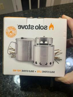 Solo Stove Lite Wood Burning Lightweight Cooking Stove With