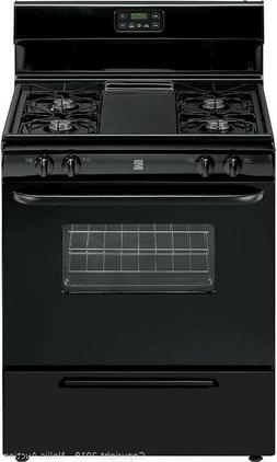 Local pickup only.Brand new KENMORE BLACK GAS FREESTANDING R