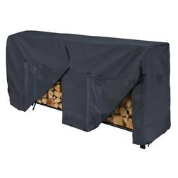 Classic Accessories Log Rack Cover, 8-Feet, Black 52-069-030
