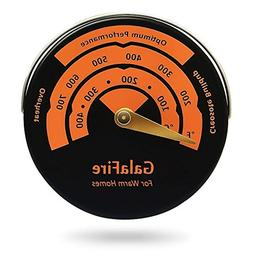 Magnetic Stove Thermometer Oven Temperature Meter for Wood B