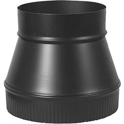 Imperial Manufacturing Pipe Increaser 8 Dia. To 6 Dia. Black