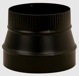 Imperial Manufacturing Pipe Reducer 6 Dia. To 8 Dia. Black 2