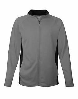 Champion Men Fleece Jacket Full Zip Performance Colorblock L