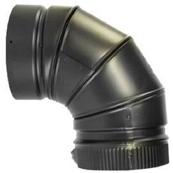 Selkirk Metalbestos 266230 6-inch 90 Degree Elbow Matte Blac