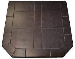 Midnight Black Ty 1 36x36 Stove Pad for All Models of Comfor