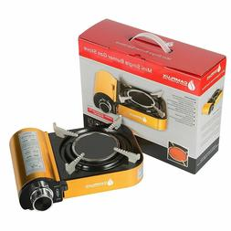 Camplux Mini Portable Golden Gas Stove with Infrared Technol