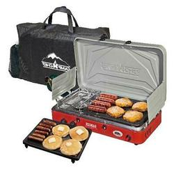 Camp Chef Mountain Series Rainer Camper 2 Cooking Burner Sto
