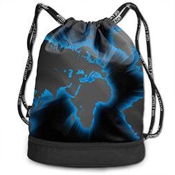 Gkoko Multipurpose Unisex Drawstring Backpack Large Storage