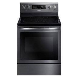 "Samsung NE59J7630SG 30"" Black Stainless Steel Electric Range"