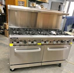 "10 Burner range New Heavy Duty 60"" Commercial Restaurant S"