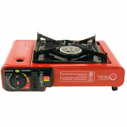 New Portable Butane Stove 8,000 BTU Camping Backpacking Outd