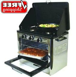 Camp Chef Outdoor Camp Oven with 2 Burner Camping Stove, COV