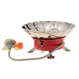 Outdoor Camping Windproof Backpacking Gas Stove for Butane G