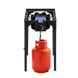 75000 BTU Outdoor Cooking Gas Single Propane Stove Camp Burn