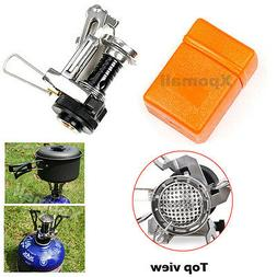 Outdoor Mini Portable Gas-Powered Butane Propane Steel Stove