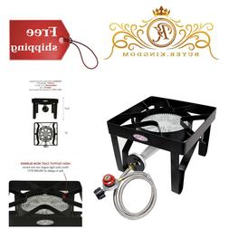 Outdoor Portable Stove Propane Gas Cooker Single Burner For