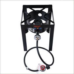 Outdoor Single Burner Stove, High Pressure Propane Burner, P