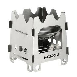 Outdoor Stainless Steel Wood Stove Portable Survival Wood Bu