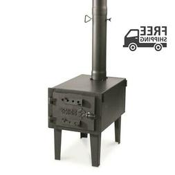 GUIDE GEAR Outdoor Wood Stove Adjustable Air Vent Camp Warme