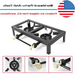 Portable Burner Cast Iron Propane LPG Gas Stove Outdoor Camp