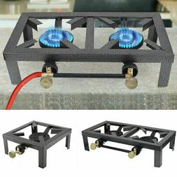 Portable Camp Stove Double/Single Burner Propane Cast Iron G