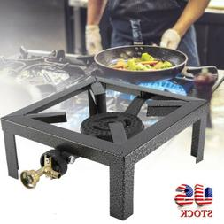 Portable Camp Stove Single Burner Stainless Propane Gas Stov