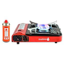 Camplux Portable Outdoor Camping Butane Gas Stove Single Bur