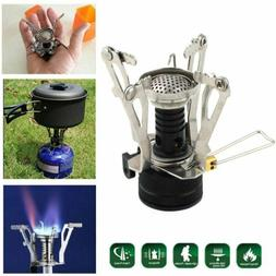 Portable Camping Gas Stove Backpacking Picnic Butane Propane